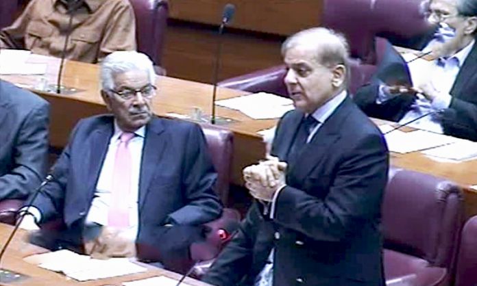 Pakistan has to adopt strong stance on Kashmir today: Shehbaz Sharif