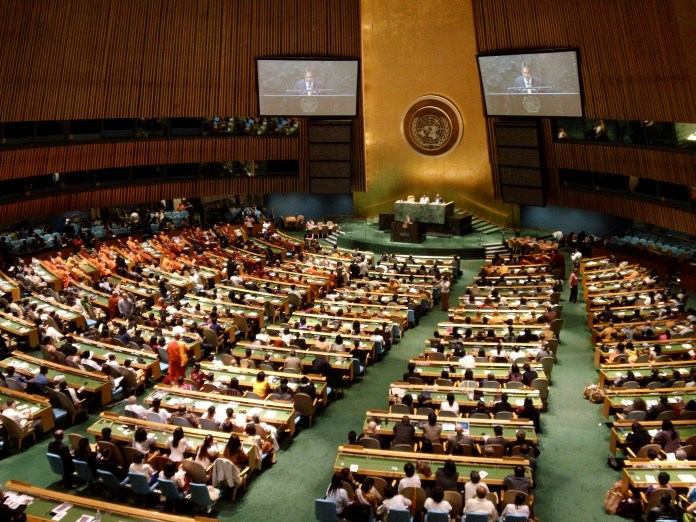 UNGA passes Pakistan-sponsored resolution on right to self-determination