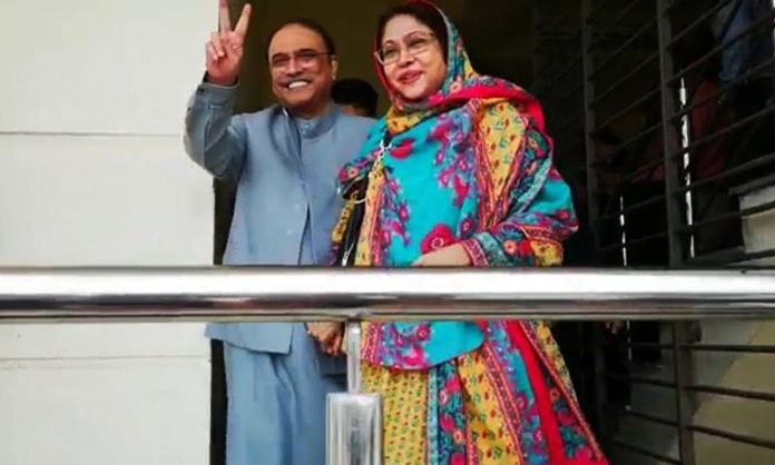 Banking court extends Zardari, Talpur's interim bail till Jan 23