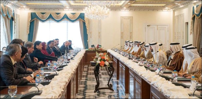 Pakistan and UAE hold delegation level talks in Islamabad
