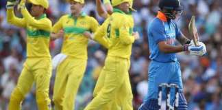 Australia beat India by 34 run in first ODI