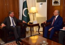 US envoy Khalilzad, FM Qureshi discuss Afghan reconciliation process
