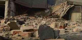 Four family members die in roof collapse in Pasni