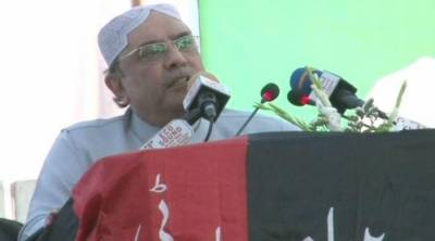 Zardari hints at launching agitation to send government packing