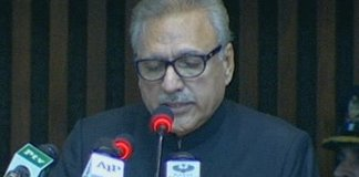 Pakistan to continue unwavering support for Kashmiris: President