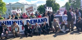 Kashmiris protest outside White House against India