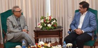 Sindh CM calls on President, discusses important issues