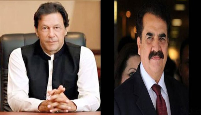 General (retd) Raheel Sharif calls on PM Imran Khan