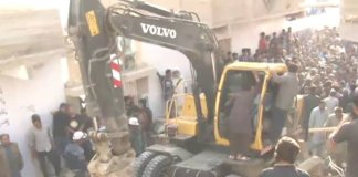 Casualties feared as residential building collapses in Karachi's Malir