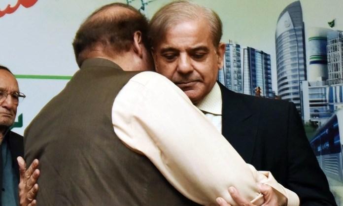 Shehbaz, Maryam inquire after Nawaz Sharif's health at Jinnah Hospital