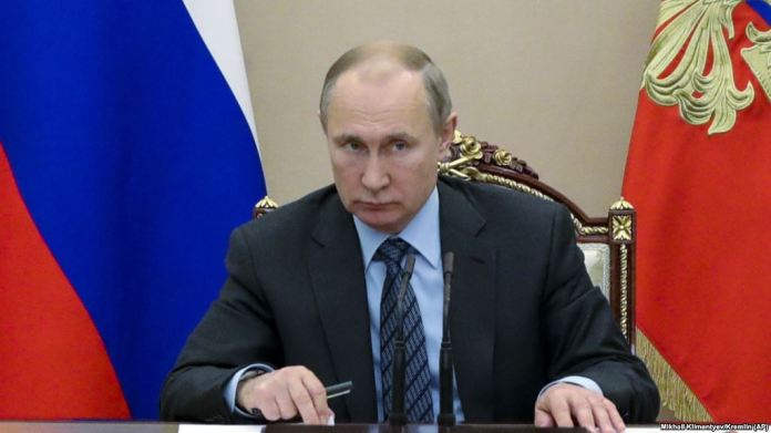 Putin says Russia suspending missile treaty after US move