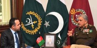 Afghanistan ambassador calls on COAS General Bajwa