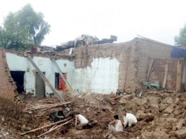 Six killed as roof collapses due to rain in Chaman