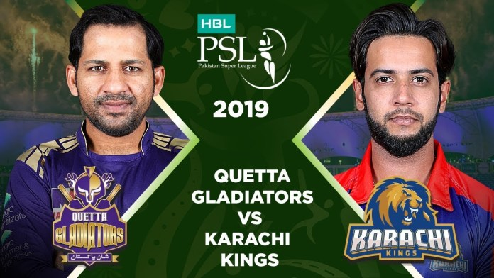 PSL 4: Karachi Kings to face Quetta Gladiators today