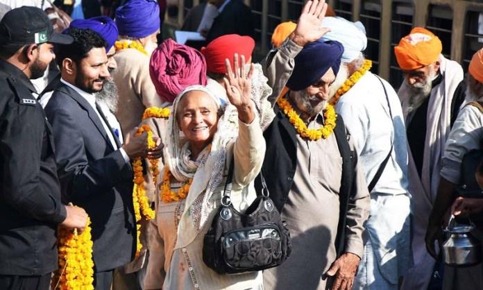 Over 90 Sikh pilgrims reach Pakistan to attend religious ceremonies