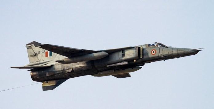 Indian Air Force aircraft crashes near Jodhpur in Rajasthan
