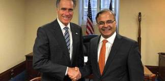 Pakistan's Ambassador briefs US senator on regional situation