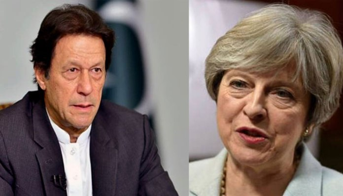UK PM May appreciates PM Imran's decision to release Indian pilot