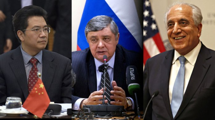 China, Russia, US reach consensus on Afghanistan issue