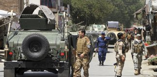 Security forces kill 17 militants in Ghazni province