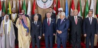 Arab leaders condemn US Golan decision at summit