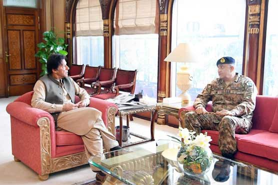 PM Imran, COAS Bajwa discuss national, regional security situation