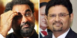 Khaqan Abbasi, Miftah Ismail's names placed on ECL
