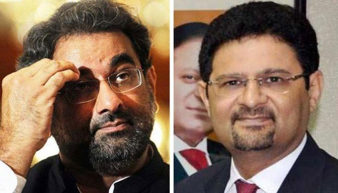 NAB court extends judicial remand of Shahid Khaqan Abbasi, Miftah Ismail till Jan 6