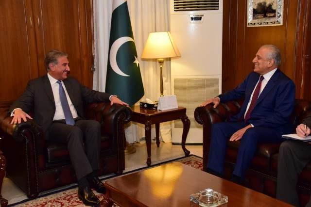 Zalmay Khalilzad, FM Qureshi