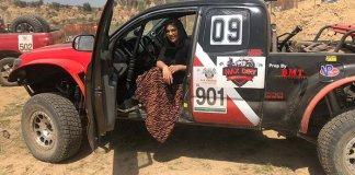 Pakistan's fastest female driver Salma Marwat wins Chakwal rally