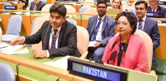 Pakistan calls for improving financial position of UN-PBC