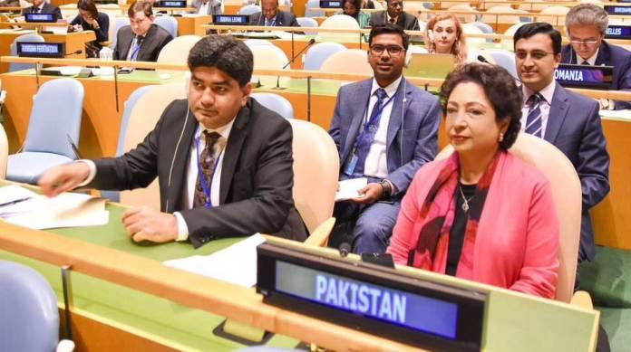 Pakistan calls for improving financial position of UN-PBC