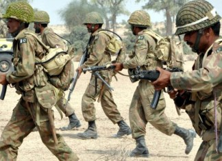 Three soldiers martyred in cross-border terrorist attack along Pak-Afghan border