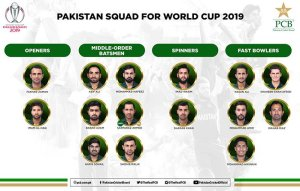 Amir, Wahab, Asif Ali included in Pakistan's squad for World Cup 2019