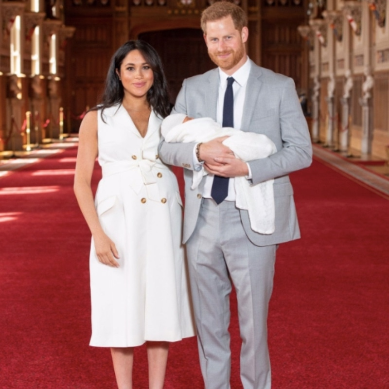 Prince Harry, Meghan Show Off Their Baby Boy To The Public