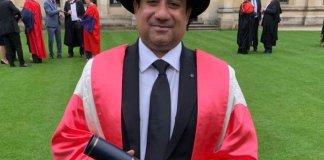 Rahat Fateh Ali Khan receives honorary degree at Oxford University