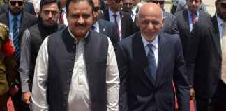 Afghan President Ghani heads back to Afghanistan after Pakistan's visit