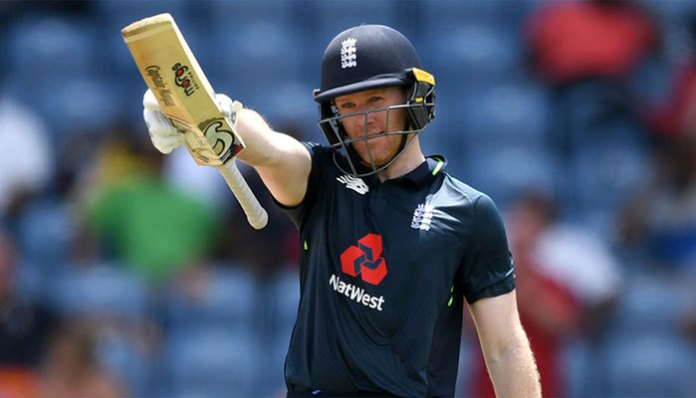 England´s Morgan hits world record 17 sixes in an ODI innings