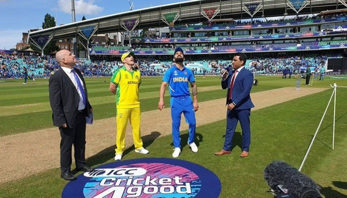 ICC World Cup: India wins toss, elects to bat against Australia
