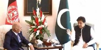 PM Imran, Afghan president discuss Afghan peace process, bilateral ties