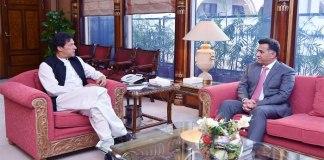 New DG ISI Lt-Gen. Faiz Hameed calls on PM Imran