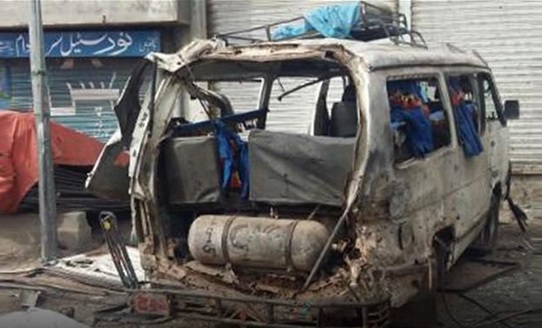 Three killed in vehicle explosion in Balochistan's Ziarat
