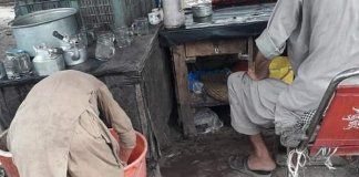 Peshawar police arrest man after picture of chained son goes viral