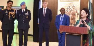 UN praises Pakistani troops for great dedication, professionalism