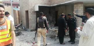 Policemen among seven killed in suicide blast, firing in DI Khan