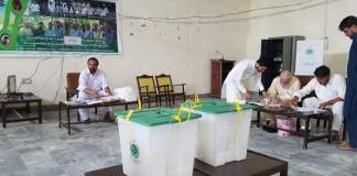 Polling underway on tribal districts' KP Assembly seats
