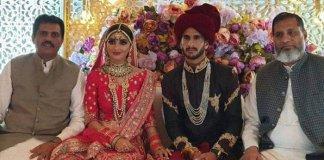 Cricketer Hasan Ali marries Indian girl Samia Arzoo