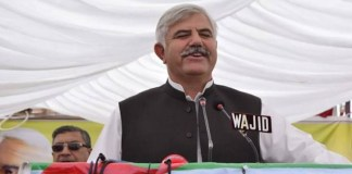 CM Mahmood Khan inaugurates 132KV grid station in Mohmand