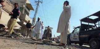 Three BDS officials among nine injured as bomb exploded in Nowshera