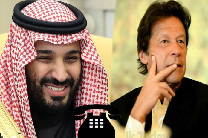 Saudi Prince Salman, PM Imran discuss Kashmir situation in telephonic conversation